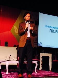 Raúl Baltar en el Encuentro Empresarial de la Cámara de Caracas.