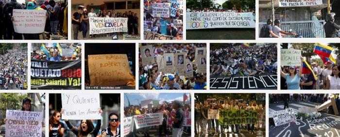 Los medios y las redes sociales han reproducido infinidad de pancartas.